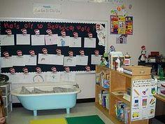 Clutter-Free Classroom: seuss