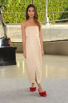 The Style of the 2013 CFDA Awards: Lily Aldridge in The Row