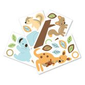 Found it at Wayfair - Animal Antics Wall Appliques