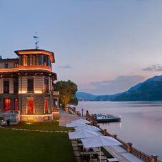 Piemont: Am Comer See liegt das Wellnesshotel CastaDiva Resort & Spa - Blevio, Italien