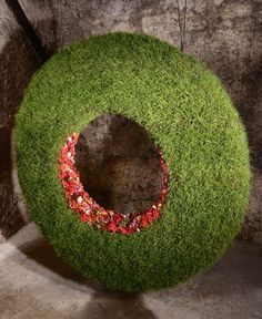 jpg Gardens are not only for lawns and house Engage in fields, but can even be great areas for … Art Floral, Deco Floral, Floral Design, Leaf Crafts, Language Of Flowers, Holiday Wreaths, Garden Projects, Artificial Flowers, Event Decor