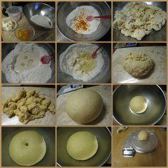 Making of Berne Brot Dough