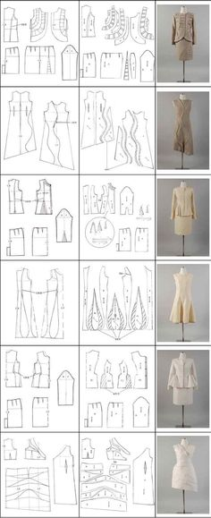 more dart manipulation bodice pattern making patternmaking for fashion design how to draft sewing patterns pattern fitting how to design sewing patterns - PIPicStats Sewing Patterns Free, Clothing Patterns, Dress Patterns, Sewing Hacks, Sewing Tutorials, Sewing Projects, Techniques Couture, Sewing Techniques, Pattern Cutting