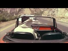 Scene from The Graduate - the rush to the wedding - in an Alfa Romeo Spider 1600 Duetto