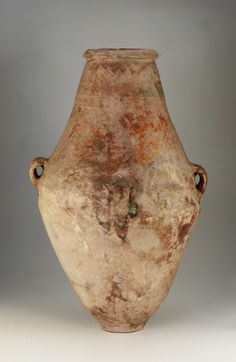 Jar  11th-12th century          Stone-paste painted with glaze, Syria