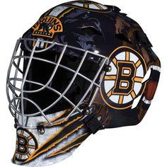 Franklin Junior NHL Team Street Hockey Goalie Mask, Grey