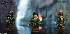 assassin creed jacob frye   Jacob Frye Assassins Creed Syndicate Custom Minifigure   Custom LEGO ...