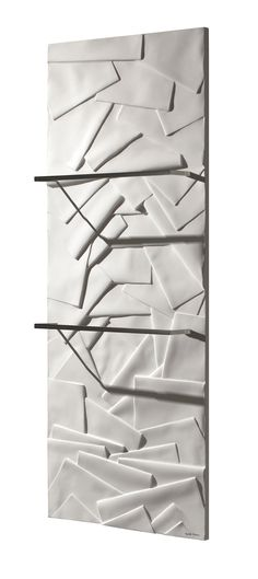 The Edo : a towel warmer a design inspired from the Japanese Zen spirit #Towelwarmer #radiator #bathroom