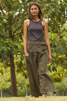 Calça Thai - calças estilo tailandesa