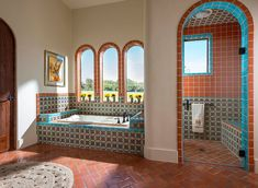 Spanish style homes – Mediterranean Home Decor Spanish Bathroom, Spanish Style Bathrooms, Spanish Style Homes, Spanish House, Spanish Colonial, Master Bathroom, Spanish Revival Home, Budget Bathroom, Dream Bathrooms