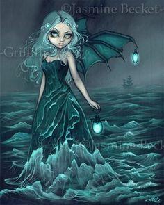 Avast!! A sea fairy!