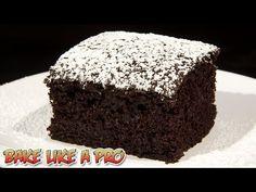 Chocolate Wacky Cake Recipe - DAIRY FREE / VEGAN Chocolate Cake Recipe - YouTube