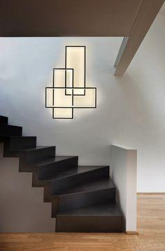 #LED indirect light wall #lamp TRIO LT by CINIER Radiateurs Contemporains | #design Johanne Cinier: