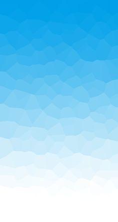 爽やかなブルーのスマホ壁紙