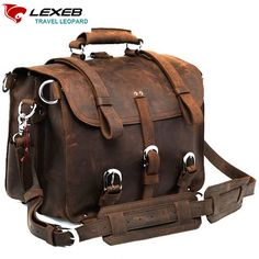 Find More Crossbody Bags Information about 2016 New Lexeb Luxury Brand Designer Craze Horse Saddle High Quality Cow Leather Briefcase Multifunction Shoulder Bags For Men  ,High Quality shoulder bags for men,China brand shoulder bag Suppliers, Cheap designer shoulder bag from LEXEB Luggage & Bags Co.,Ltd Store on Aliexpress.com
