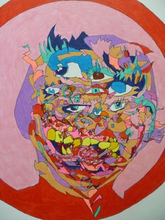 Ian Liddle Untitled Coloured crayon on paper Artists, Paper, Color, Artist, Colour, Colors