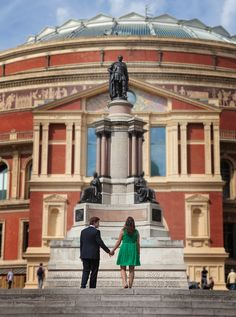 Outside the Royal Albert Hall in South Kensington, London Kensington London, Royal Albert Hall, Northern Ireland, London England, Engagement Photography, United Kingdom, Beautiful Places, Louvre, Dreams