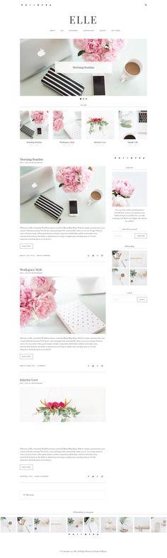 Responsive Stylish Wordpress Theme