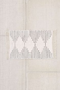 Plum & Bow Connected Stripe Rag Rug - Urban Outfitters