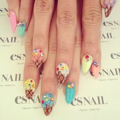 Ice Cream Nails♬