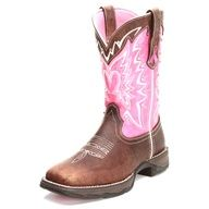 @Erin Allen Wyatt Boots Breast Cancer Cowgirl Boots