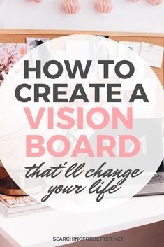 How To Create A Vision Board For 2020 - Searching For Better - - Simple things you can do to create a vision board that really works! These tips help to create the ultimate DIY dreamboard to make your goals come true. Development Quotes, Personal Development Books, Personal Core Values, Meditation, Personal Growth Quotes, Goal Board, Creating A Vision Board, Overcoming Anxiety, Self Improvement Tips