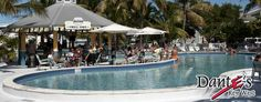 Dante's in Key West - Bring your bathing suit to this bar/restaurant - they have a great pool - no charge to use.  Great people watching too!
