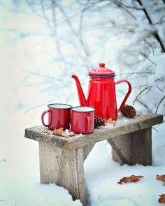 Every day is a fresh start ☕️ ❄️