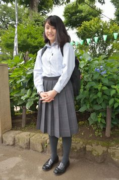 Pleated School Skirt, Japanese Countryside, Japanese School Uniform, High School Girls, Japanese Girl, Asian Beauty, Erotic, Rain Jacket, Windbreaker