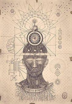 brain and sacred geometry