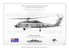 ROYAL AUSTRALIAN NAVY / SH-60F / MH-60S / MH-60R B-2 Seahawk