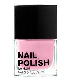 baby pink nail polish   H US