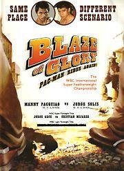 Manny Pacquiao v Jorge Solis Blaze of Glory