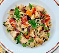 My Carolina Kitchen: Orzo Salad – makes enough to feed a crowd