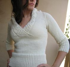 Corona Free Sweater Knitting Pattern