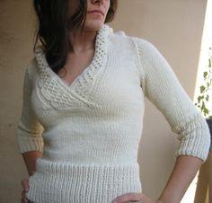 Corona Free Sweater Knitting Pattern