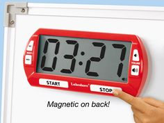 Giant Classroom Timer-Additional Education pin. I love finding different ways to have a timer besides using your cellphone. This is my Re-Pin