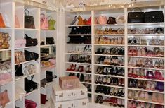 Lisa Vanderpump closet! ..I'll take the closet...and if you could be so kind as to leave all the shoes and purses, that would be great :)
