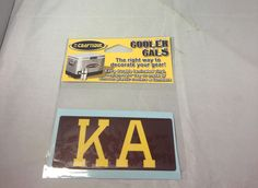 Kappa Alpha Fraternity Cooler Cals - Brothers and Sisters' Greek Store