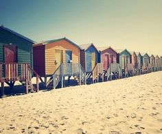 Summer in a vintage beach hut favourite-places