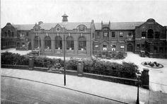 Wigan High School, Wigan Lane, c1947.