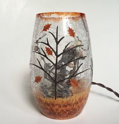 Stony Creek Small Lighted Vase - Autumn's Finale *** You can get additional details at the image link. (This is an affiliate link and I receive a commission for the sales)