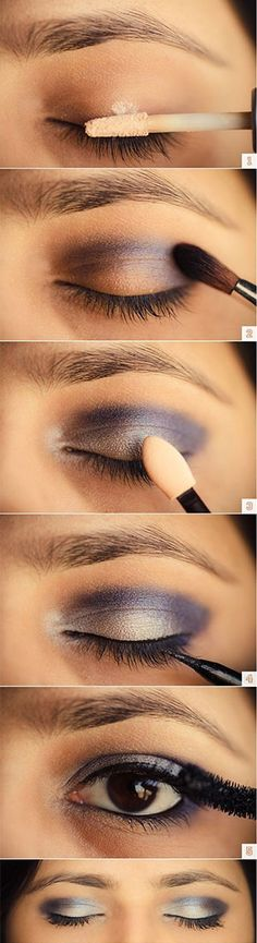 brown-eye-makeup-eyeshadow-hacks-tutorial-purple-crease.jpg (300×1100)
