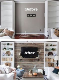 How to Create a Wood Pallet Accent Wall. Wood accent walls have been popular for a long time because of the warmth and texture they add to a room, infusing it with a rustic cabin vibe. Because pallets can be found or obtained for little-to-no cost, they can be an inexpensive option to completely transform the look and feel of a room, in just an afternoon. by sally