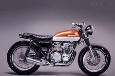 Honda CB550F Super Sport by Louis Nel | The Garage Cafe