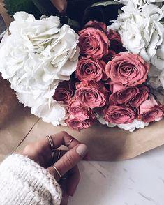Blooms x delicate rings