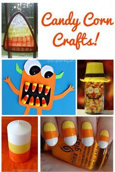30 Fun Candy Corn Crafts | Optimistic Mommy
