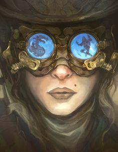 steam-on-steampunk:Marvels of Science and Steampunkby JonHodgson~Steampunk Love •❀• by Airship Commander HG Havisham