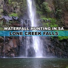 Waterfall hunting in South Africa is a perfect way to plan an off the beaten track holiday - Lone Creek Falls Lonely, Amazing Photography, South Africa, Waterfall, Hunting, Around The Worlds, Instagram, Waterfalls, Rain
