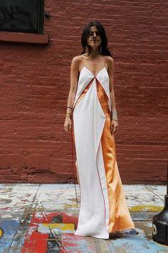 Образы для смелых: платье-комбинация. 4